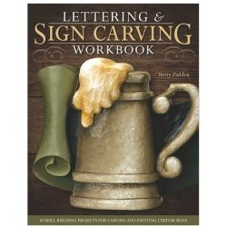 Lettering & Sign Carving Wookbook