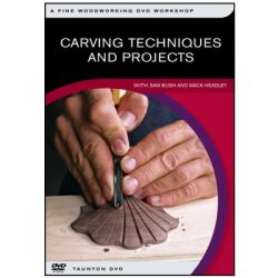 Carving Techniques & Projects DVD
