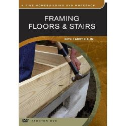 Framing Floors & Stairs DVD