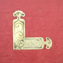 55mm Brass Square Plate