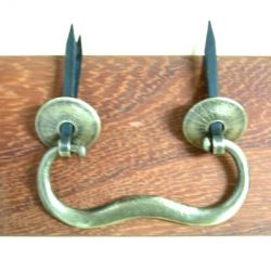 82mm Brass Ear Pull