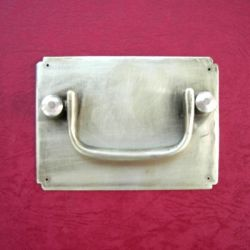100mm Brass Plate Pull