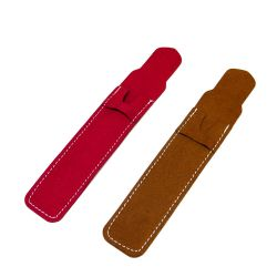 Single Microfibric Leather Pen Sleeve