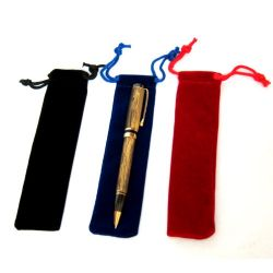 3 pcs Velvet Pen Bag
